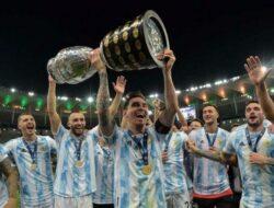Argentina Juara Copa America Kalahkan Brazil 0-1, Berikut Jalannya Pertandingan