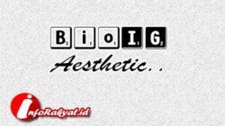 bio ig Aesthetic simple