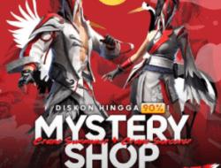 Event Terbaru! Mystery Shop Free Fire 17 Agustus 2021 Dapatkan Diskon 90%