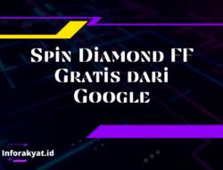 Spin Diamond FF Gratis dari Google, Apakah Ada? Ini Jawabannya