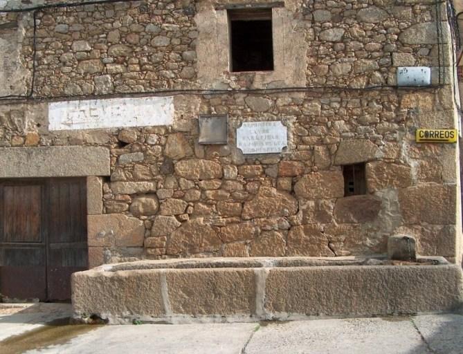 Fuente Forti, San Martín de Trevejo, Trevejo, Sierra de Gata, Turismo, Fuentes, Agua, Raia, Raya, Portugal