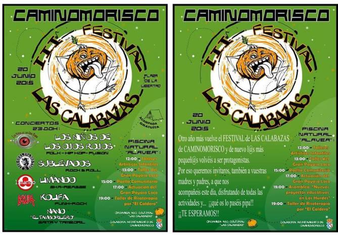 Festival Rock Caminomorisco, Las Calabazas