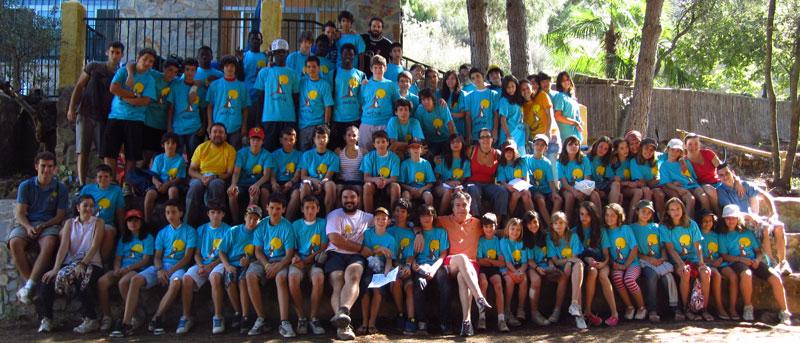 campamento verano extremadura, campamento verano sierra de gata, asociacion juvenil nutria, hernan perez, la escuela del bosque