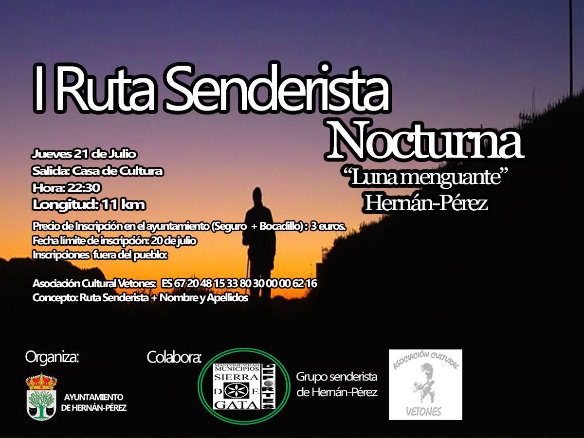 Hernan Perez, ruta senderista, Sierra de Gata