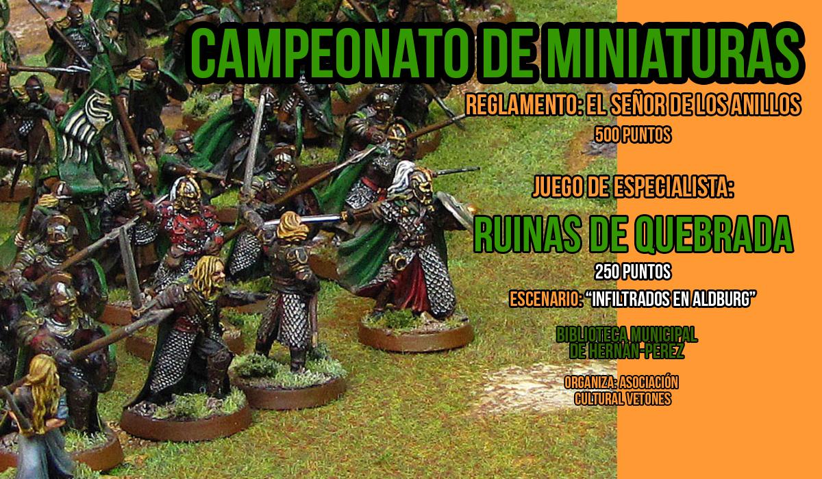Campeonato, Ruinas de Quebrada, Señor de los Anillos