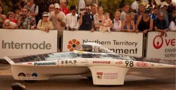 Acorn Racing en la carrera solar