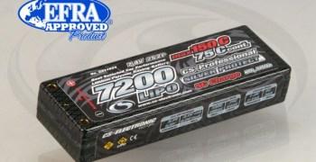 LiPo CS Electronic 7200mAh 150C