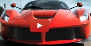 La Ferrari, el nuevo modelo con la colaboracion de Fernando Alonso