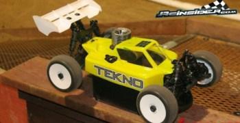 Tekno RC se lanza al mundo del nitro con un buggy 1/8