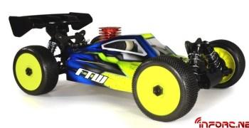 Nueva carrocería FTW Night Fox para Xray XB9 2013
