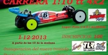 6ª Prueba del Provincial de Almería 1/10TT 2WD Eléctrico el Club C.A.D.I