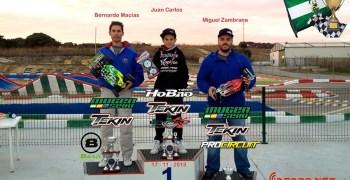 Resultados de la tercera prueba del Campeonato El Estrecho 1/8 TT-e 2013