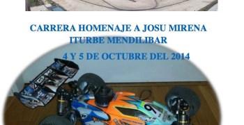 4 y 5 de Octubre, carrera homenaje a Josu Mirena Iturbe