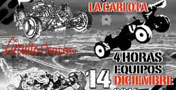Este Domingo, carrera de resistencia en La Carlota