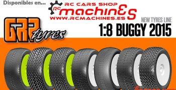 RC Machines - Gama GRP 2015 ya disponible