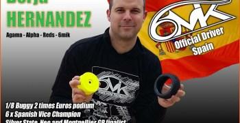 Borja Hernández sigue con los cambios y se pasa a 6Mik
