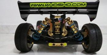 Kyosho MP9 TKI3 Edición Oro. Por Andrea Giomarelli