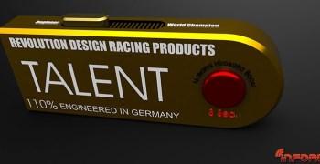 Talent, el dispositivo de Revolution Designs que te hará ganar carreras