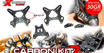 Showgame - Carbon Kit 7. Todo el carbono que necesitas en tu Mugen MBX7R