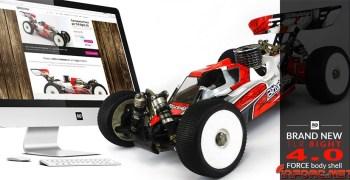 Bittydesign presenta Force para el TLR 8ight 4.0. Incluye vídeo.