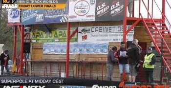 Video en directo - Mundial 1/8 Pista Francia ¡Superpole a las 12!