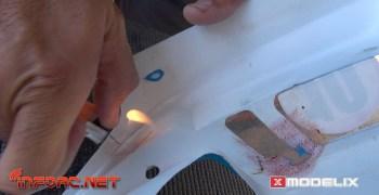 Video - Cómo reparar una carrocería de coche radiocontrol con el reparador Ultimate
