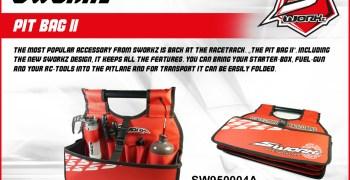 SWorkz presenta su pit bag V2, para llevar al box todo lo que necesitas comodamente