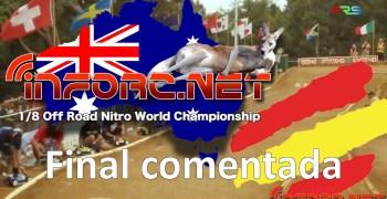Video - Final del Mundial 1/8 TT Gas comentada con Robert Batlle