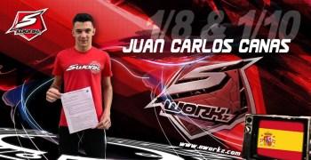 Juan Carlos Canas renueva con SWorkz y MW RC Products
