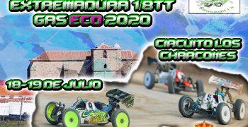 18 y 19 de Julio - Primera prueba regional Extremadura 1/8 TT 2020