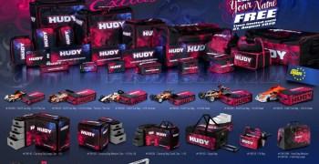Compra tu maleta Hudy en Espasa RC Shop y personalízala gratis