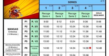 Campeonato de España 1/8 TT-E Roldan. Horarios y directos del Sábado