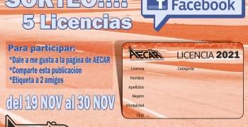 Sorteo AECAR 2000 seguidores en Facebook - ¡5 licencias!