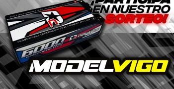 ¡Sorteo Modelvigo! Consigue una batería LiPo shorty de 6000mah y 130C de Rcprostyle