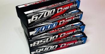 Nueva gama de baterías RC Prostyle ya disponibles en Modelvigo