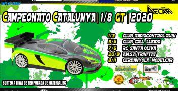 Comunicado Campeonato de Cataluña 1/8 GT 2020