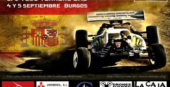 4 y 5 de Septiembre - Tercera Nacional B 1/8 TT en Club Modelismo Castilla