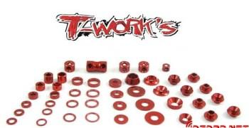 Nuevas arandelas y prisioneros de T-Works