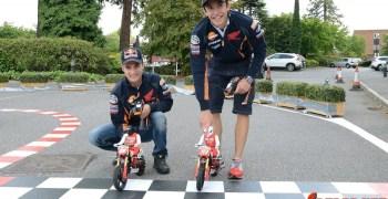 Video: Dani Pedrosa y Marc Marquez con motos radiocontrol