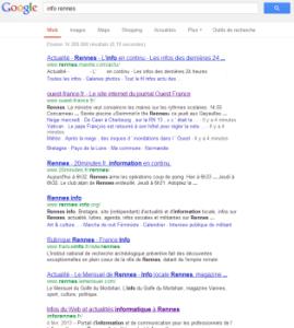 info rennes recherche google méthode  pws