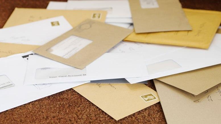 courrier en entreprise