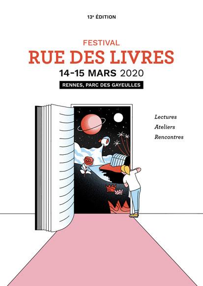 festival Rue des livres Rennes 2020