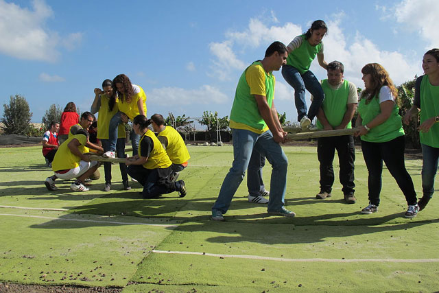 épreuve sportive team building