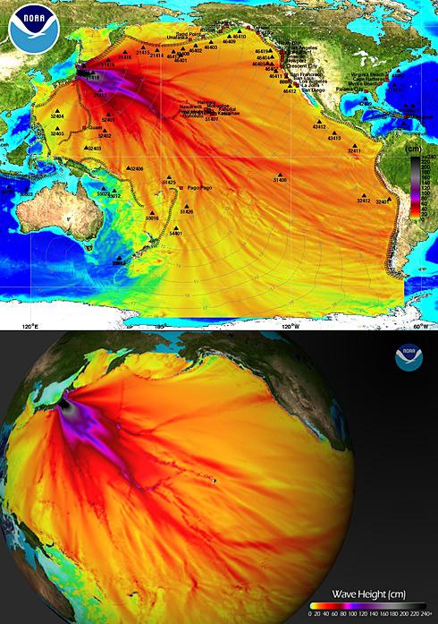 NOAA-Tsunami-plots