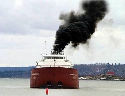 Poluição Parte III: os navios