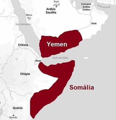 A guerra no Yemen e na Somália
