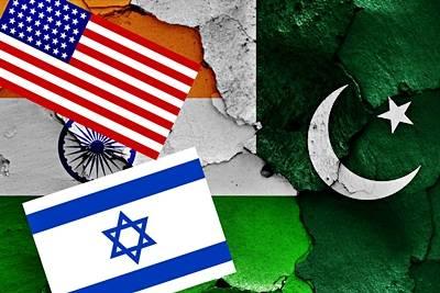 Índia+EUA+israel = guerra
