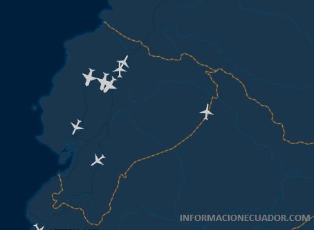 informacionecuador.com vuelos en tiempo real quito guayaquil arribos nacionales internacionales