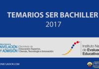 temario-ser-bachiller-2017-unificado-informacionecuador.com