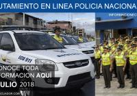 reclutamiento en linea policia nacional